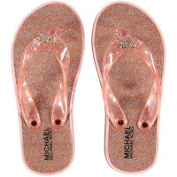 Picture of Michael Kors ZIA CAGE KILEY kids flipflops rose