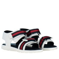 Picture of Gucci 257759 kids sandals white