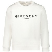 Afbeelding van Givenchy H05098 baby trui wit
