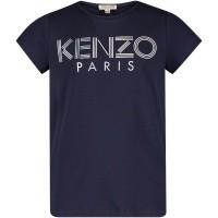 Afbeelding van Kenzo KM10018 kinder t-shirt navy