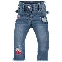 Afbeelding van MonnaLisa 393420RI babybroekje jeans