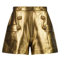 Afbeelding van Balmain 6P6179 kinder shorts goud
