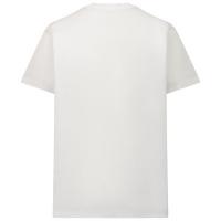 Afbeelding van Dsquared2 DQ0522 kinder t-shirt wit