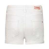 Afbeelding van Tommy Hilfiger KG0KG05801 kinder shorts wit