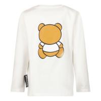 Afbeelding van Moschino MOO005 baby t-shirt wit