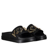 Picture of Michael Kors 40R9HOFA2L womens flipflops black