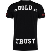 Afbeelding van in Gold We Trust FA072 heren t-shirt zwart