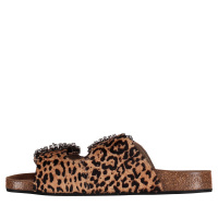 Afbeelding van Toral 10865 dames slippers panter