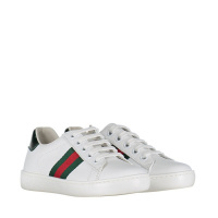 Afbeelding van Gucci 433148 CPWE0 kindersneakers wit