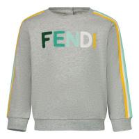 Afbeelding van Fendi BUH025 5V0 baby trui grijs