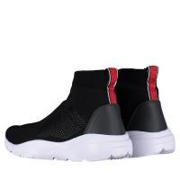 Afbeelding van Antony Morato MMFW01100 heren sneakers zwart