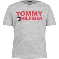 Afbeelding van Tommy Hilfiger KB0KB04078 B baby t-shirt licht grijs