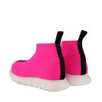 Afbeelding van Dsquared2 63516 kindersneakers fluor roze