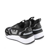 Afbeelding van EA7 XSX012 kindersneakers zwart