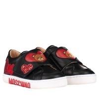 Afbeelding van Moschino 26219 kindersneakers zwart
