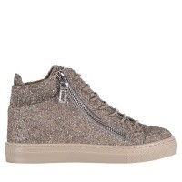 Picture of Guiseppe Zanotti SBI7 kids sneakers silver
