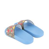 Afbeelding van Gucci 501069 kinderslippers licht blauw