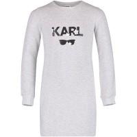 Afbeelding van Karl Lagerfeld Z12086 kinderjurk grijs