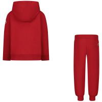 Afbeelding van Moncler 8M74120 baby joggingpak rood