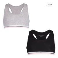 Afbeelding van Calvin Klein G80G800201 kinder bralettes zwart/grijs