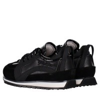 Picture of Dsquared2 57024 kids sneakers black
