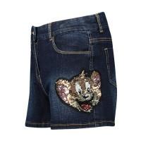 Afbeelding van MonnaLisa 194413 kinder shorts jeans