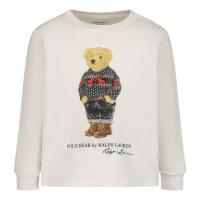 Afbeelding van Ralph Lauren 853792 baby t-shirt off white