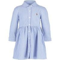 Afbeelding van Ralph Lauren 310701270 babyjurkje licht blauw