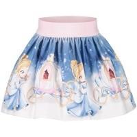 Afbeelding van MonnaLisa 312708 baby rokje licht blauw