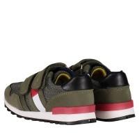 Afbeelding van Tommy Hilfiger T1B430076 kindersneakers army