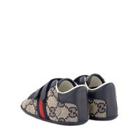 Afbeelding van Gucci 502051 babyschoenen navy