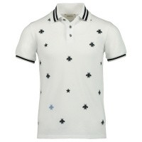 Picture of Gucci 540621 kids polo shirt white