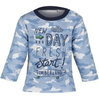 Afbeelding van Timberland T95847 baby t-shirt blauw