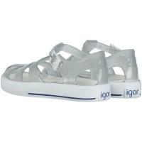 Picture of Igor S10107 kids sandals transparent