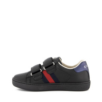 Afbeelding van Gucci 455448 CPWP0 kindersneakers zwart