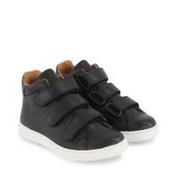 Afbeelding van Boss J09163 kindersneakers zwart