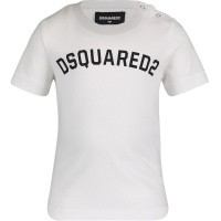 Afbeelding van Dsquared2 DQ03FF baby t-shirt wit