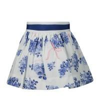 Afbeelding van MonnaLisa 315701 baby rokje blauw/wit