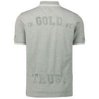 Afbeelding van In Gold We Trust KIDSWK0011020522PLS kinder polo licht grijs