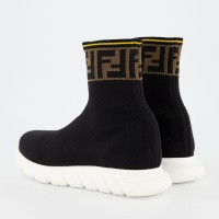 Picture of Fendi JMR257 kids sneakers black