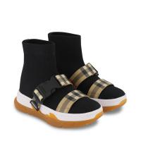 Afbeelding van Burberry 8042410 kindersneakers zwart