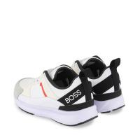 Afbeelding van Boss J29243 kindersneakers wit