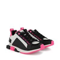 Afbeelding van Dolce & Gabbana DA0711 / AX077 kinder sneakers fluor roze