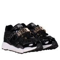 Afbeelding van Moschino 26276 kindersneakers zwart