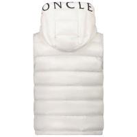 Afbeelding van Moncler 1A52G20 kinderjas off white