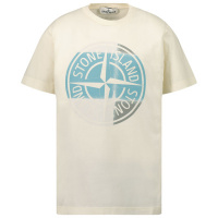 Afbeelding van Stone Island 21052 kinder t-shirt off white