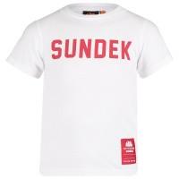 Afbeelding van Sundek B025TEJ7800 B baby t-shirt wit