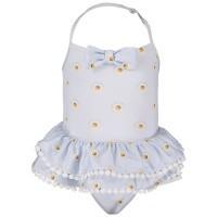 Afbeelding van MonnaLisa 933000 baby badkleding licht blauw