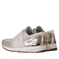 Afbeelding van Michael Kors 43T8MKFS3D dames sneakers goud