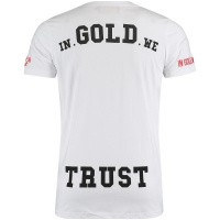 Picture of in Gold We Trust FA072 mens t-shirt white